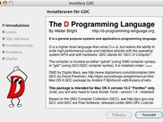 GDC for Mac Installer (Panther)