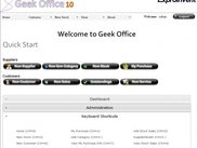 Geek Office 10.5 Home Page