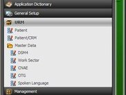 Users Relation Manager Menu
