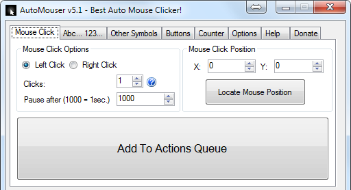 AutoMouser - AUTO MOUSE & KEYBOARD 100+ download | SourceForge net