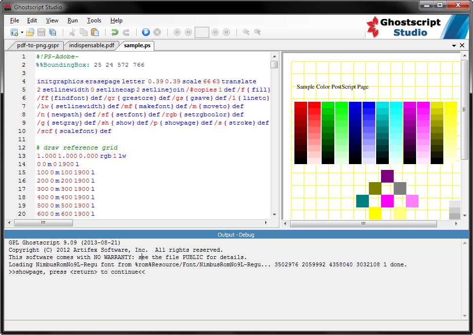 Ghostscript Studio download | SourceForge net