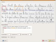 Interactive Transcription of Old Text Documents