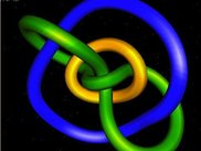 A mathematical knot (model exported from VRML format)
