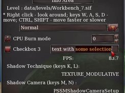 Checkboxes and text field (v.0.2)