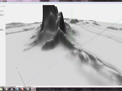 simple heightfield terrain editor