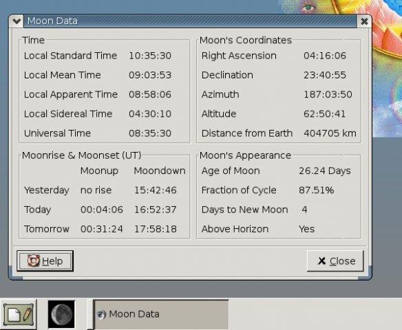 GNOME Lunar Clock Applet download | SourceForge net
