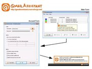 GmailAssistant in Windows Vista