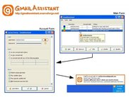 GmailAssistant in Windows XP