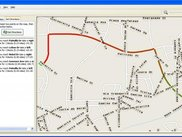 Directions on map program