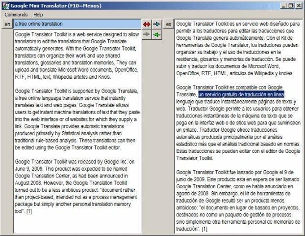 GMiniTrans download | SourceForge net