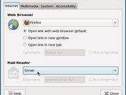 Gnome Gmail adds Gmail as a Preferred Application