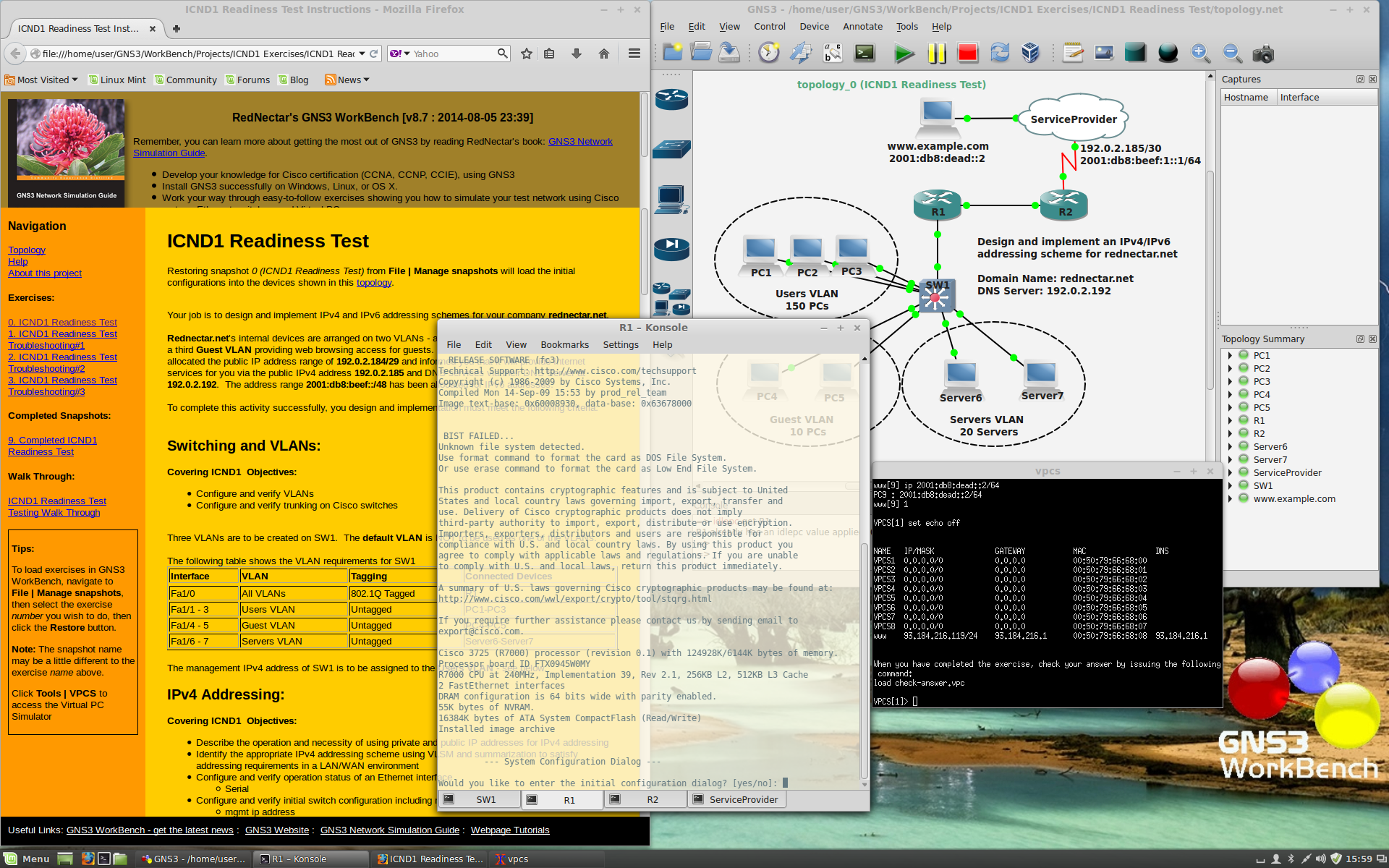 GNS3 WorkBench download | SourceForge net