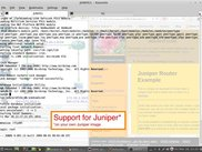 Juniper Support (on your own image)