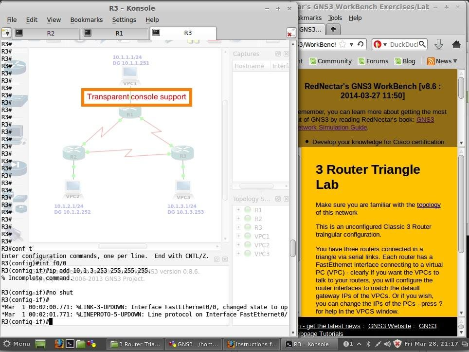 GNS3 WorkBench download | SourceForge net