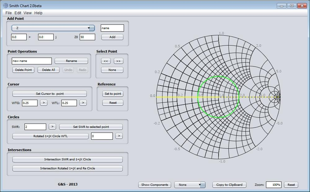 Smith chart calculator download sourceforge screenshot 20beta ccuart Image collections