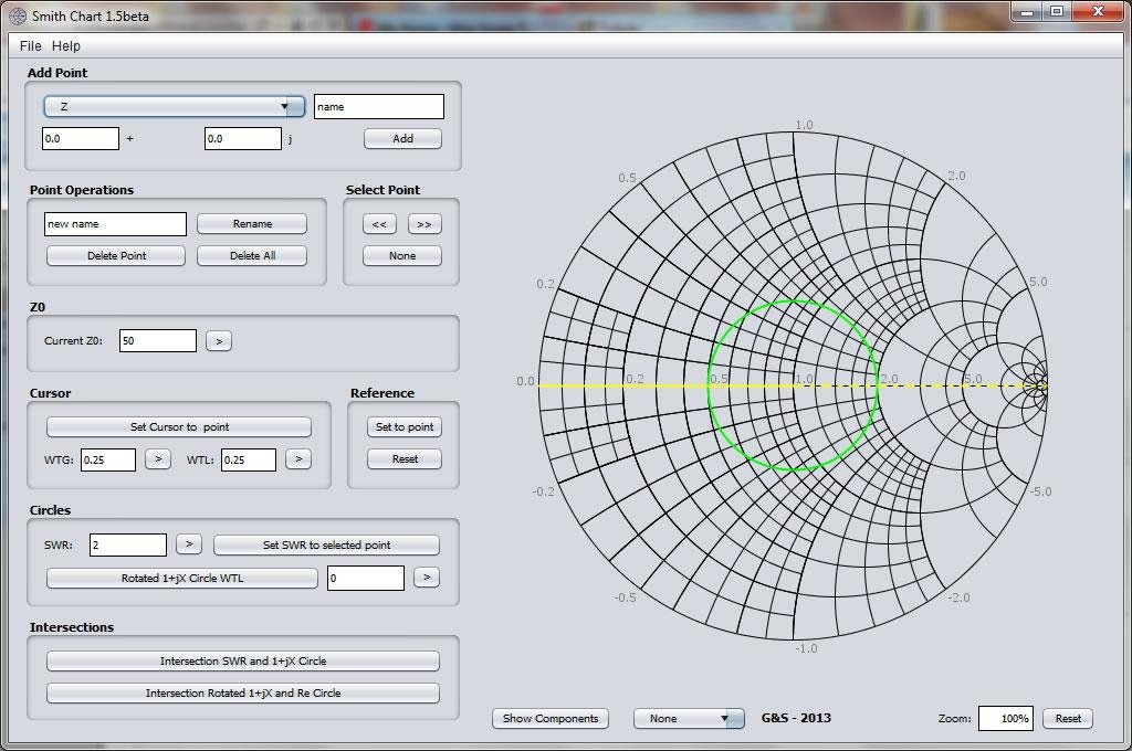 Smith chart calculator download sourceforge sceenshot 15beta ccuart Image collections