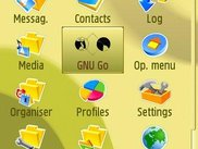 GNU Go Icon in S60 Application Menu