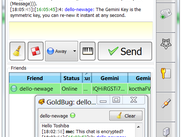 GoldBug Chat Tab and Chat-Pop-Up with doubleclick
