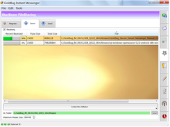 StarBeam File Sharing Function to transfer files encrypted.