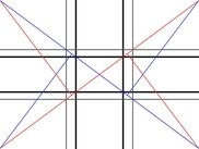Dividing lines (golden rule, diagonal golden rule, 1/3 rule)