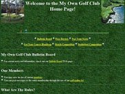 The Golf Club home page