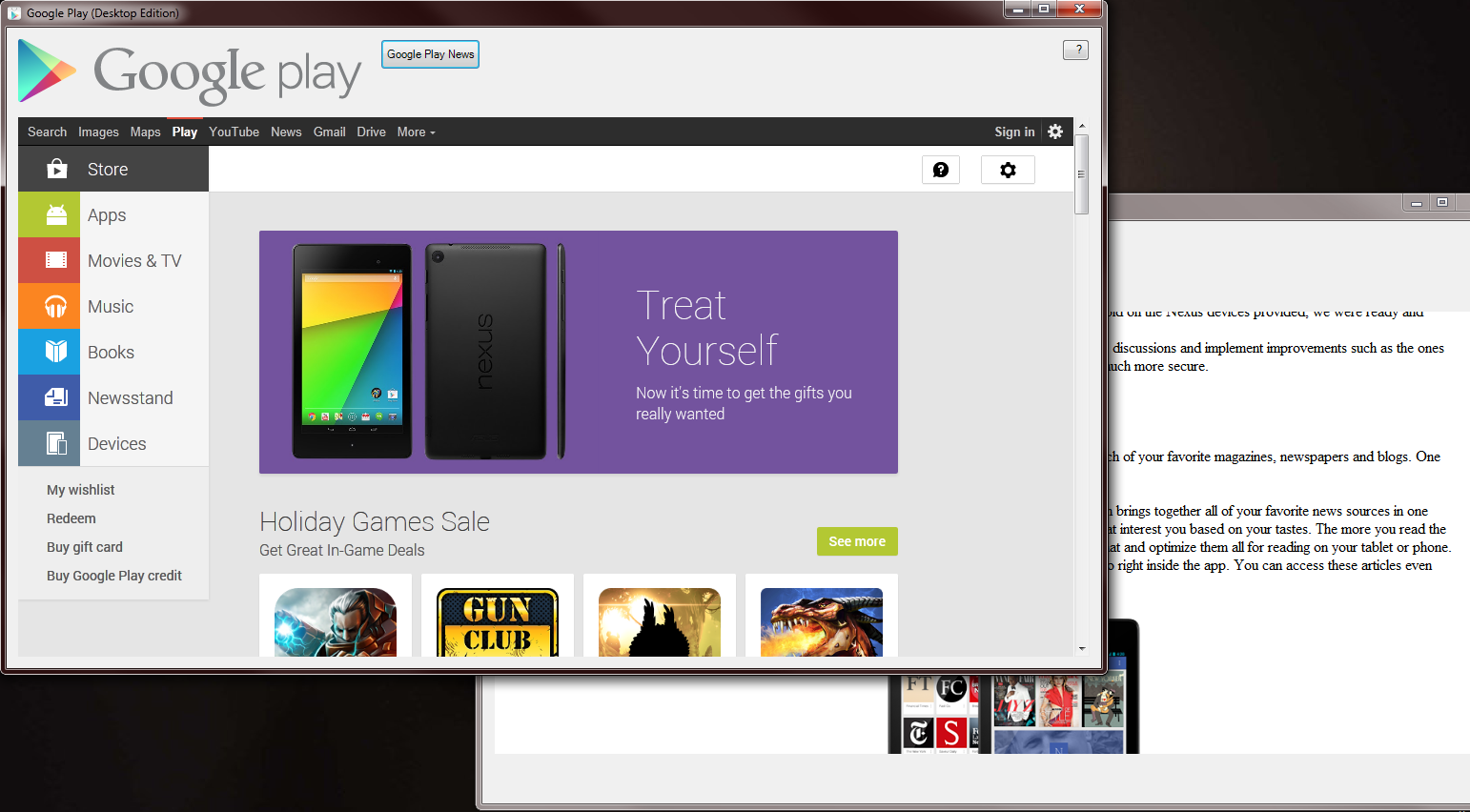 Google Play(Desktop Edition) download | SourceForge net