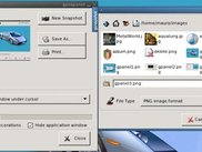 gsnapshot - screen capture (shown with save file dialog)