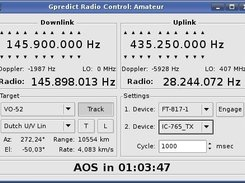 Radio controller in Gpredict