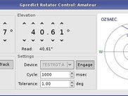 antenna rotator controller in Gpredict