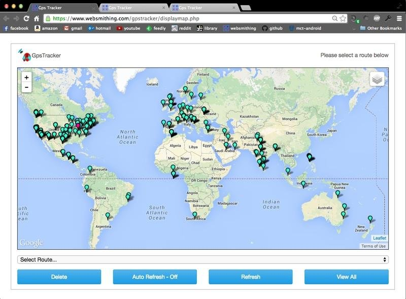 Google Map Gps Cell Phone Tracker download | SourceForge net