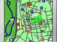 Map of Erlangen with V0.4.0 and high-style