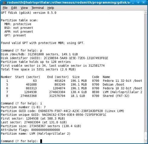 GPT fdisk download | SourceForge net