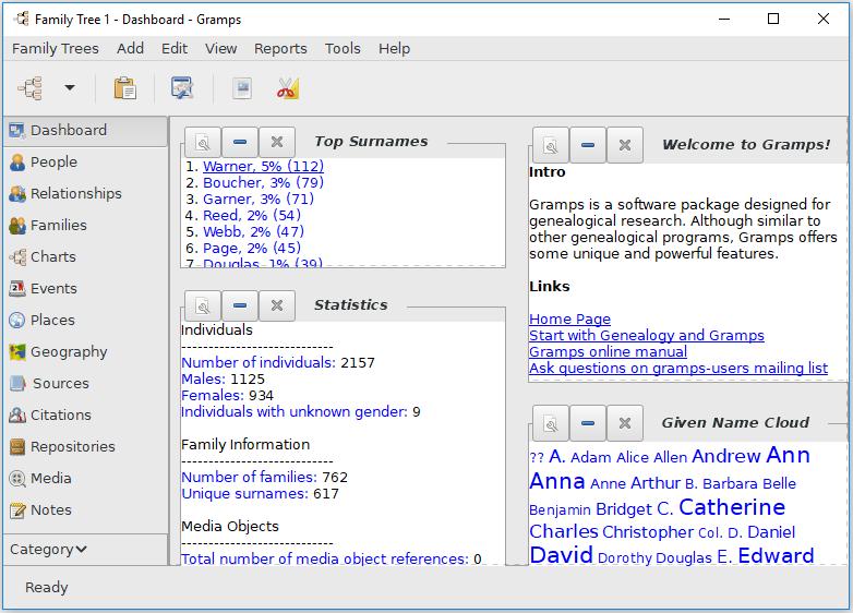 Windows 7 GRAMPS 5.1.2-1 full