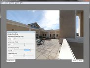 rectilinear panorama manipulator-edit projections externally