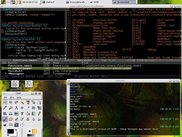 grk-0.2.0 with gnome, emacs and a gnome-terminal