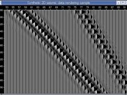 The very first test of seismic data rendering with OpenGL