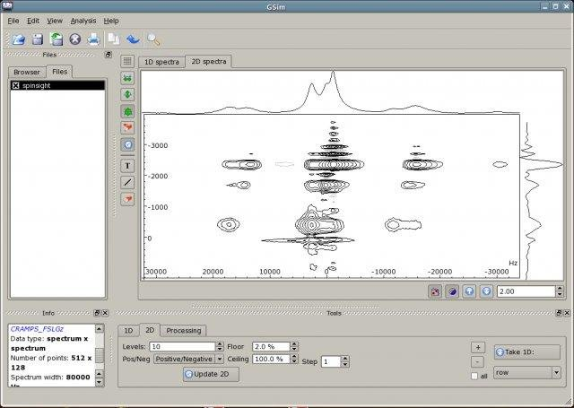 GSim - tool for NMR spectroscopy download   SourceForge net