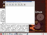 GNU Tamil OCR Screenshot taken in GNU/Linux