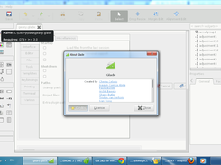Glade On Windows 7 (GTK+3 with themes Adwaita)