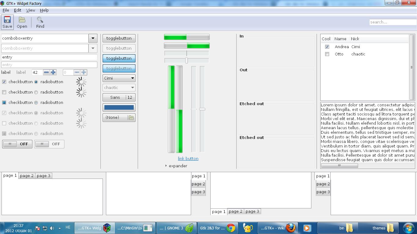 GTK+ for Windows (MinGW) download | SourceForge net