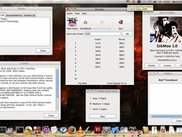GtkMoo with all its Interfaces on Mac OS X