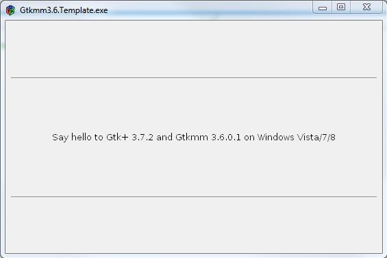 Gtk3 7 and Gtkmm3 6 for Windows download   SourceForge net
