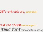 Simple Pango fonts and colours