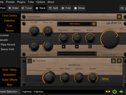 Guitarix Theme Oak