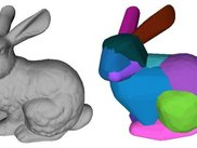 "Approximate Convex Decomposition of ""Bunny"""