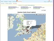 Show map page with qso detail on clickable map pins