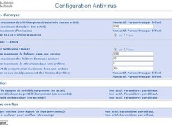 Configure scan limits (french)