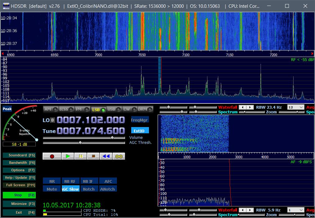 HDSDR_2 7 6_ExtIO_ColibriNANO download | SourceForge net