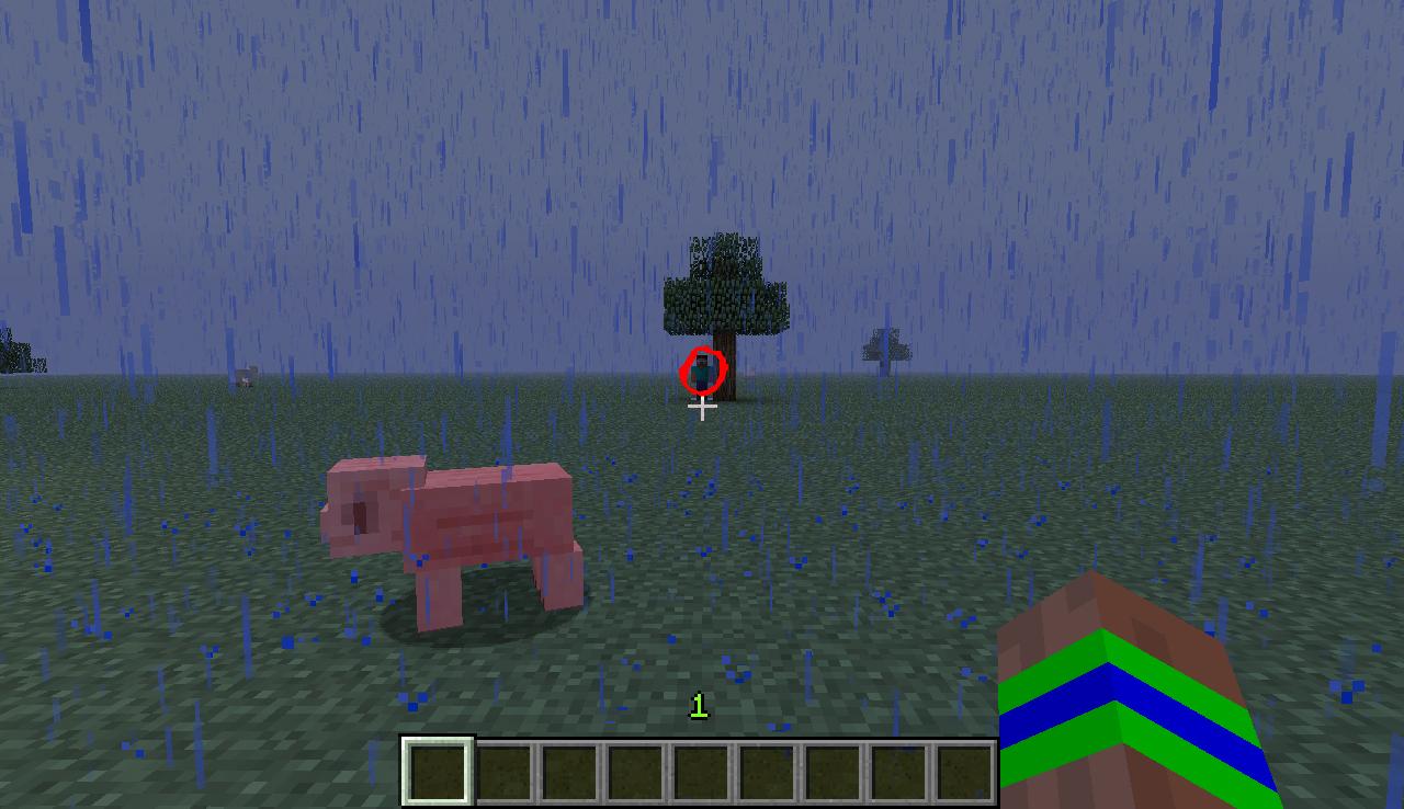 Herobrine In Minecraft 132 Sighting Herobrine Cows And ...