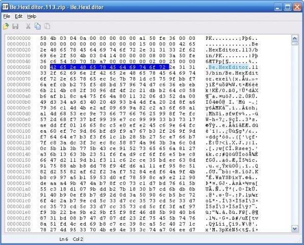 Be HexEditor ( NET C# hex edit control) download | SourceForge net